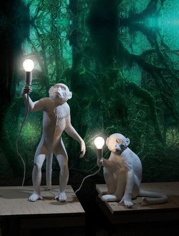 Seletti Monkey Sitting Lamp