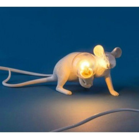 Seletti Mouse Lie Down Lamp