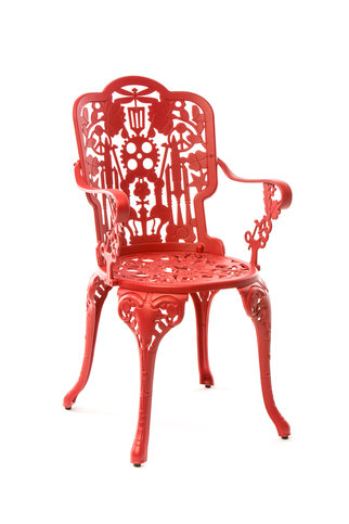 Seletti Red Armchair