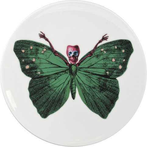 The New English Lepidoptera Crudus Cake Plate