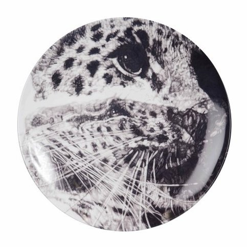 The New English Our Loss (Amur Leopard) Coupe Plate