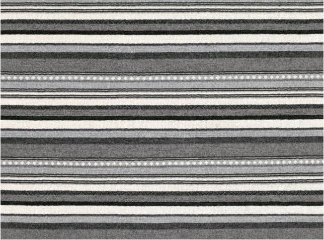 Zinc Textile Poncho Stripe Mineral Fabric