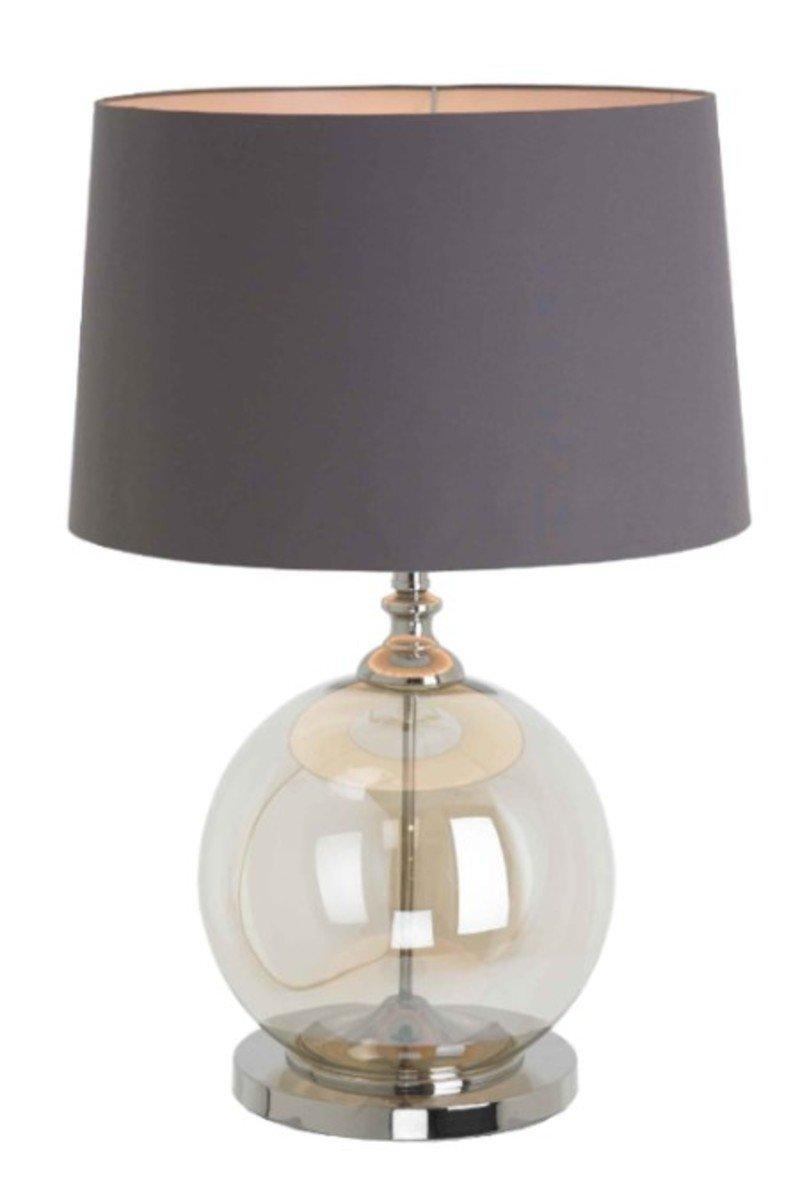 R V Astley Einar Cognac Glass Table Lamp
