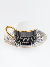 Anatomy Boutique Anatomy of Digestion Cup & Saucer - Arteries