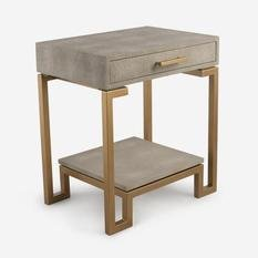 Andrew Martin Flex Cream Side Table
