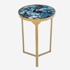 Andrew Martin Ida Cobalt Side Table