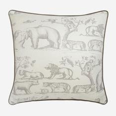 Andrew Martin Jungle Grey Cushion