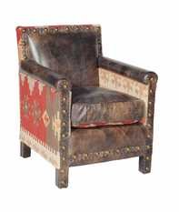 Andrew Martin Marlborough Kilim Fudge Chair