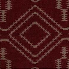 Andrew Martin Navaho Red Fabric