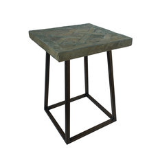 Andrew Martin Parquet Side Table