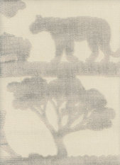 Andrew Martin Safari Lion Taupe Fabric