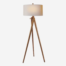 Andrew Martin Tripod French Wax Floor Lamp