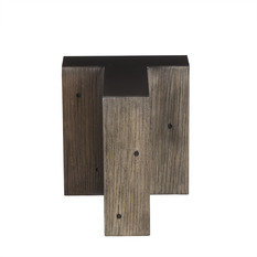 Andrew Martin Wooden Alphabet T Side Table