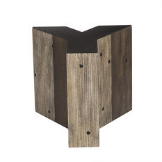Andrew Martin Wooden Alphabet Y Side Table
