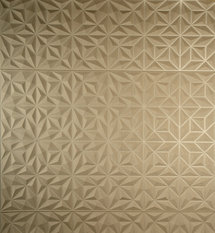 Arte Rosace Brown Wallcovering