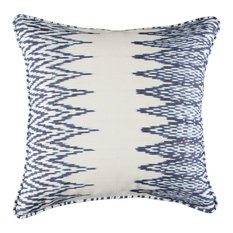 A Rum Fellow Catarina Ikat Cushion - Indigo