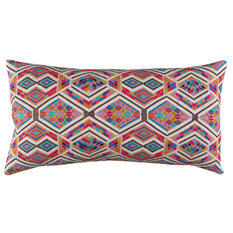 A Rum Fellow Chahal Brocade Bolster Cushion