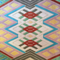 A Rum Fellow Kaya Blush - Hand Tufted Rug