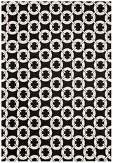Asiatic Arlo Buckle Black Rug