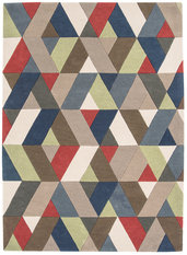 Asiatic Funk Chevron Multi Rug
