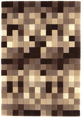 Asiatic Funk Natural Boxes Rug