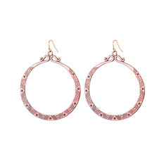 Brave Lotus Eclipse Rose Gold Earrings
