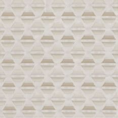 Casamance Star White Petal/Champagne Fabric