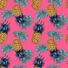 Charlotte Jade Pineapple Wallpaper