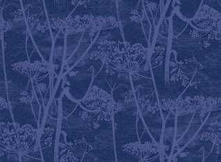 Cole & Son Cow Parsley Velvet Fabric