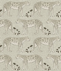 Cole & Son Leopard Walk Black and White Wallcovering
