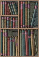 Cole & Son Ex Libris Wallcovering