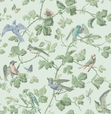 Cole & Son Winter Birds Wallcovering