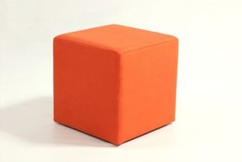 AD Upholstery Simple Square Cube Stool