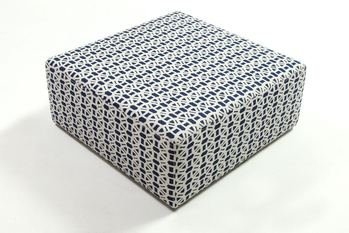 AD Upholstery Simple Cube Stool Low