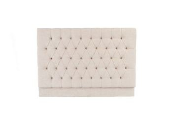 AD Upholstery Simple Deep Buttoned Headboard