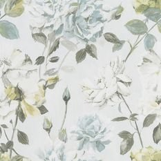 Designers Guild Couture Rose Duck Egg Wallpaper