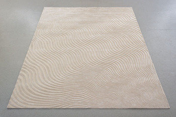 Front Floating Curl Shell Rug