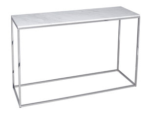 Gillmore Space Kensal Marble and Steel Console Table