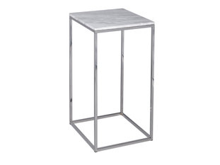 Gillmore Space Kensal Marble and Steel Square Lamp Stand