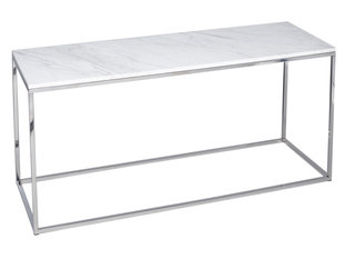 Gillmore Space Kensal Marble and Steel TV Stand
