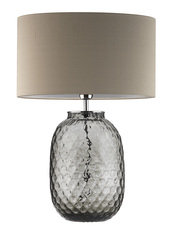 Heathfield Bubble Smoke Table Lamp