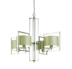Heathfield Conniston Nickel Chandelier