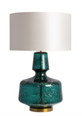 Heathfield Adora Teal Table Lamp