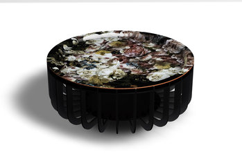I Bride Medua Black XL Coffee Table