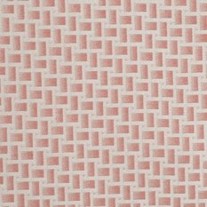 James Hare Abstract Pink Fabric