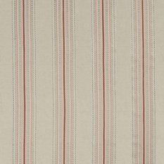 James Hare Ceylon Stripe Natural/Dusky Rose Fabric