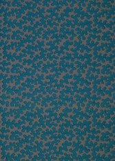 James Hare Piparo Turquoise Fabric