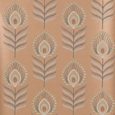 Jane Churchill Sula Copper Wallpaper