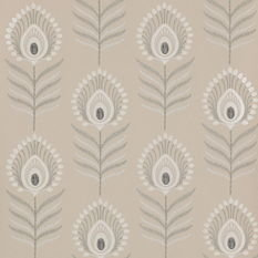 Jane Churchill Sula Stone Wallpaper
