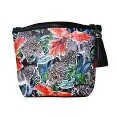 "Jessica Russel Flint Classic Make Up Bag / ""The Jungle Jungle"""